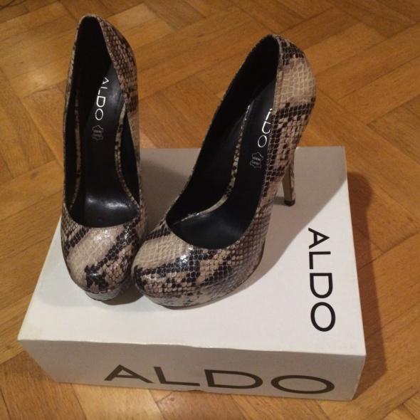 Skórzane szpilki Aldo stan idealny...