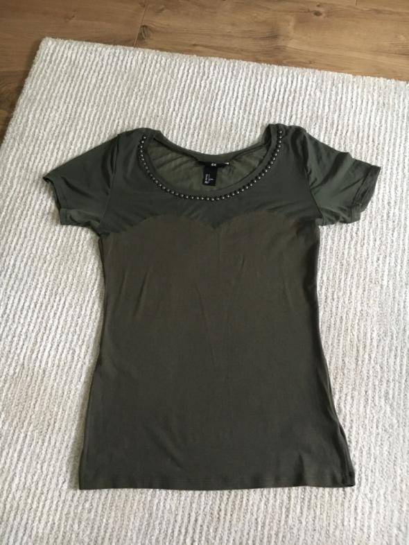 Bluzka H&M z siateczką