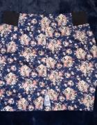 Spódniczka mini w kwiatki House...