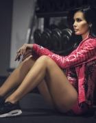 Bluza sportowa Panda GYM Pink Run