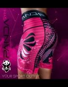 Spodenki biegowe Panda GYM pink Run