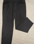 Spodnie szare eleganckie wizytowe męskie NEXT M...