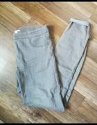 Szare rurki na gumce H&M spodnie...