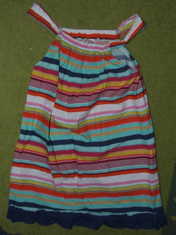 Kolorowa sukienka BDB stan