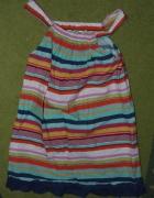 Kolorowa sukienka BDB stan...