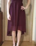 Zwiewna i lekka sukienka wieczorowa Vero Moda...