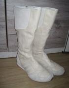 Adidas kozaki na wiosnę skóra 38...