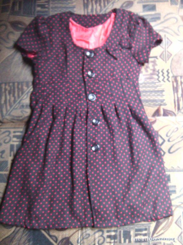 Suknie i sukienki sukienka narzutka płaszczyk kropki
