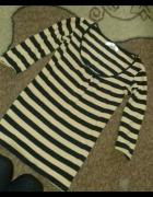 bluzka w paski cropp