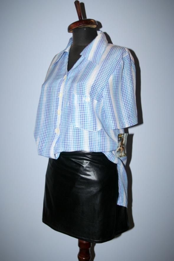Spódnice spódnica lateksowa czarna rozm L