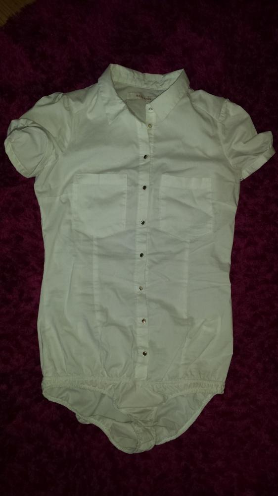 Koszula body biała xs...
