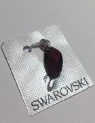 Srebrna 925 ZAWIESZKA z kryształami Swarowski