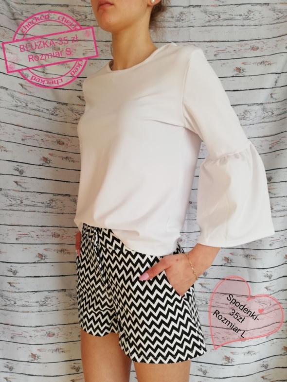 Wasze inspiracje Biała bluzka i szorty