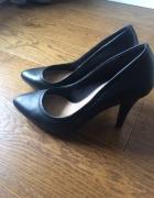 Czarne szpilki Zara 37