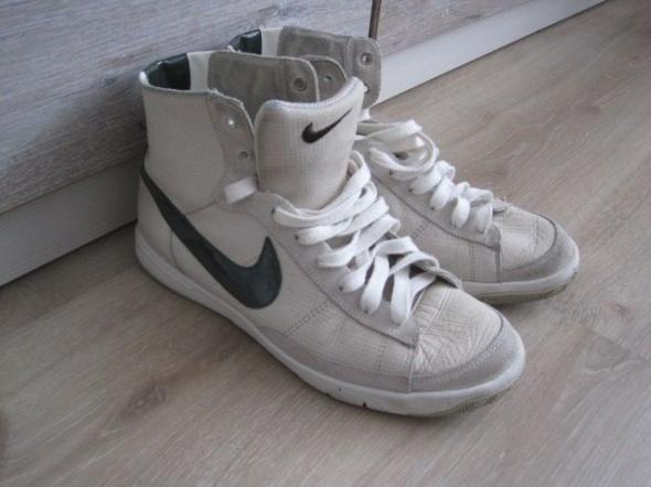 Sportowe Nike wysokie skóra 37