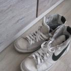Nike wysokie skóra 37