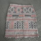 spódnica aztec boho F&F S M tanio