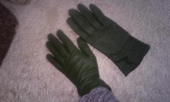 Rękawiczki kolor zielony