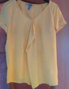 Żółta bluzka XS