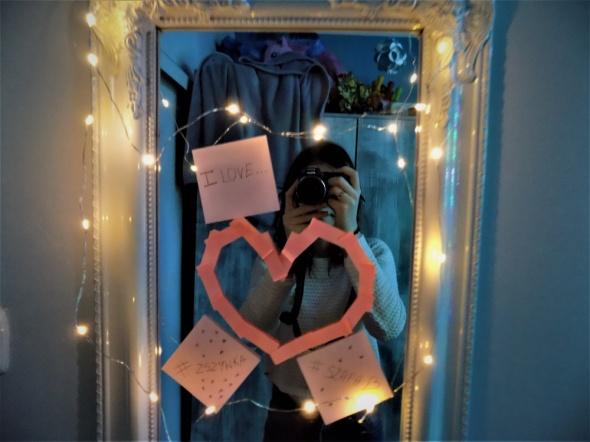Na specjalne okazje Walentynkowe wyznanie miłości