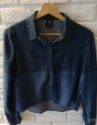 Koszula jeans BERSHKA 36