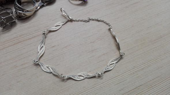 Bransoletki srebrna filigranowa bransoletka Imago Artis