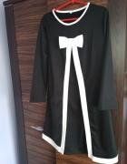 Sukienka z kokardą L