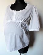 Biała tunika koszula ciąża i po r M