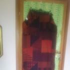 piękny długi ciepły szal w jesiennych kolorach