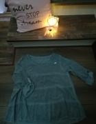 Nowa bluzka falbanki S trapezowa