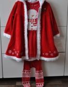 Śliczny świąteczny komplet dla Mikołajki...