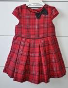 Śliczna sukienka w kratkę...