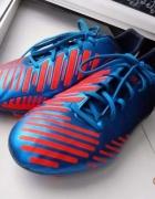Korki Adidas predator absolado niebiesko pomarańczoweneonowe 44...