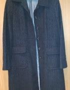 płaszcz czarny BCBGMAXAZRIA