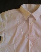 Biała koszula z kołnierzykiem dziecięca 86cm
