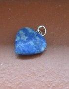 serduszko z lapis lazuli