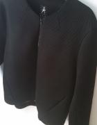 Czarna bluza kurtka siatka