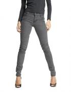 Cheap Monday spodnie szare rurki jeans zara