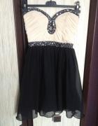 Sukienka rozkloszowana tiul...