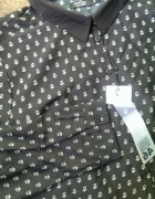 nowa czarna koszula