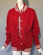 AWDis kurtka bluza bejsbolówka M czerwona...
