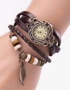 zegarki brazowe nowe...