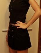 Czarna sukienka Bershka 36 S niespotykana