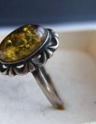 Pierścionek kopułka ze srebra