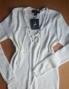Nowy sweterek bluzka z przodu wiazana atmosphere...