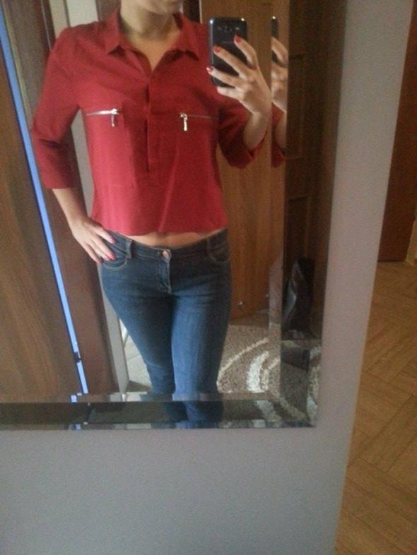 Czerwona koszula Berska XS na S