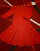 Nowa czerwona sukienka S M