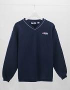 Granatowa bluza FILA rozmiar M...