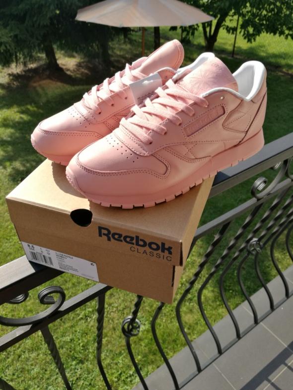 Reebok X Spirit Classic Leather pink róż 39 nowe