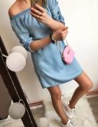 Sukienka Damska jeansowa Hiszpanka rozmiar M